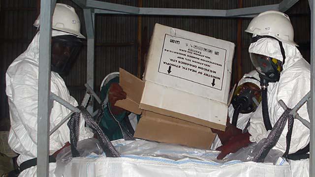 Obsolete Pesticides Disposal in Ethiopia